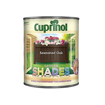 Cuprinol Garden Shades Seasoned Oak 1 Litre CUPGSSO1L