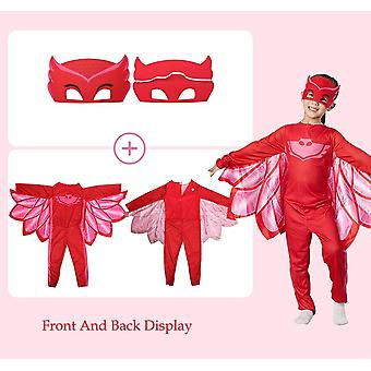 Pj Masques Costume Cosplay Clothes Suit, Jouets