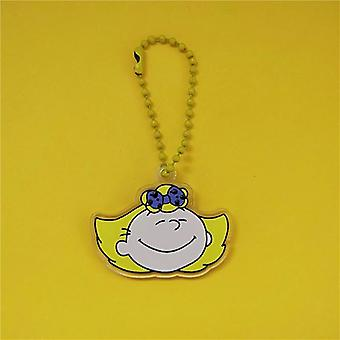 Leuke Cartoon Sleutelhanger, Key Ring Bag