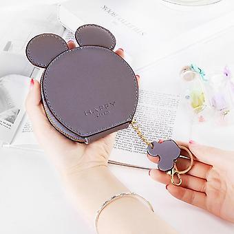 Mickey Mouse Kreslený design, taška na mince a klíčena s přívěsek
