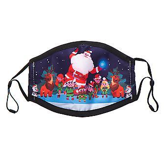 غطاء رأس عيد الميلاد مع حلقات من القطن القابل للغسل - نموذج 8