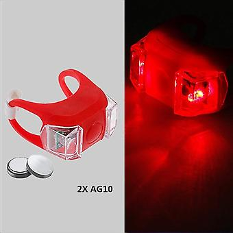 Bike Bicycle Led Taillight Rear Tail Safety Warning Portable Light, Usb Style