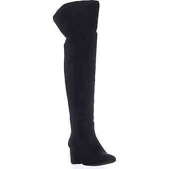 Alfani Womens Novaa Closed Toe Over Knee Fashion Boots