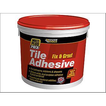 Everbuild 703 Fix & Grout Tile Adhesive 1.5kg