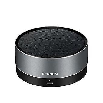 F3 Metal Wireless bluetooth Speaker Portable Subwoofer HIFI Handsfree AUX TF