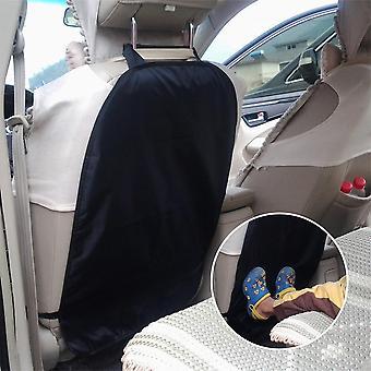 Car Seat Back Protector Cover Pad Kick  Dirty Mud Mat Black Toddler Seat Mat