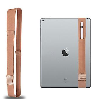 Voor Apple Pencil / iPad 12,9 inch General High Elastic Band Apple Pencil Band Protective Bag (Goud)