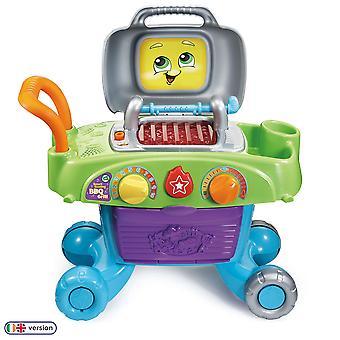 Leapfrog älykäs sihisevä bbq grilli lelu bbq, lasten keittiö bbq leikkisetti leikkiruokaa, pelata keittiö acc