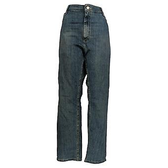 Lee Men's Straight Jeans 42x30 Classic Fit Five Pocket Blue
