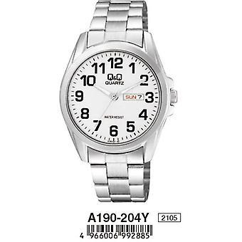 Q&q watch a190-204y