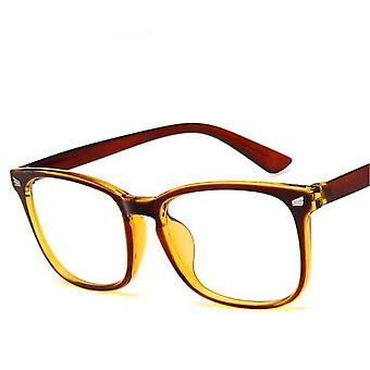 Fashion Transparent Eyeglasses Frame Computer Glasses Spectacle Anti Blue Ray