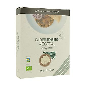 Organic Burger Vegetable Tofu Algae 2 units of 80g