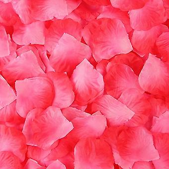 Simulation Rose Petals Artificial Flowers Decoration Romantic Wedding Marriage