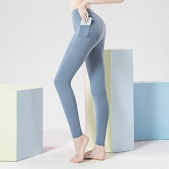 Women's pantalones de yoga de nylon de doble cara Q22