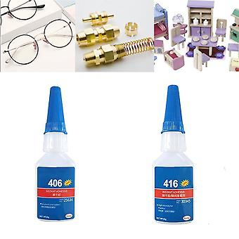 インスタント接着剤液体強いスーパーグルー - ボトルはプラスチック&ウッド用