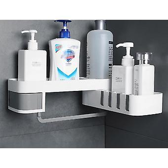Aluminium-Dusche Regal, Badezimmer Lagerung Organizer, Seifenschale