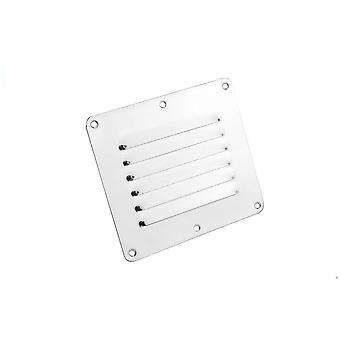 Edelstahl 316 Boot Marine Square Air Vent Louver / Grille