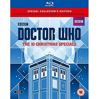 Doctor Who The Ten Christmas Specials Collectors Edition Blu-ray