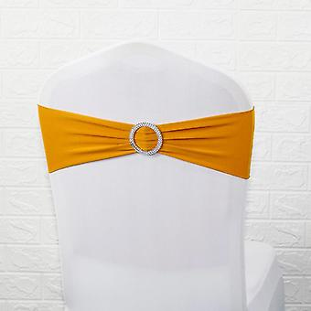 Lycra Band Stretch Elastic Bow With Round Ring Wedding Banquet Party Decoration
