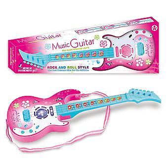 4 Strings Guitar Baby Educational Wisdom Development Kids