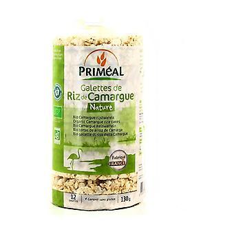 Plain Camargue rice cakes 100% France 130 g