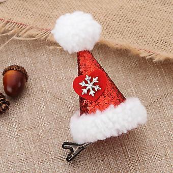 Krásný knír srdce design klobouk vlasy piny 6ks