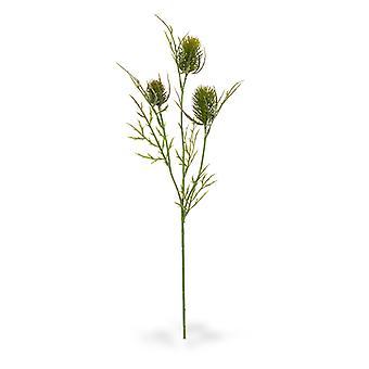 Ramo de Cardo Artificial 60 cm verde
