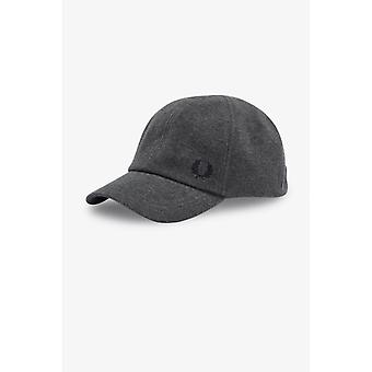 Grey Laurier Crown Men's Cap - Fred Perry