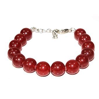 Holiday Carnelian Stone Bracelet