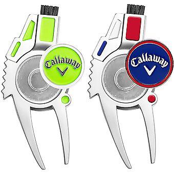 Callaway Golf 4-in-1 Divot korjaustyökalu