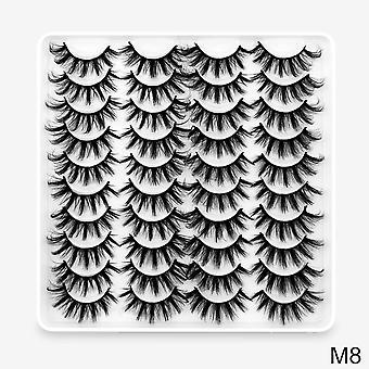 Lashes Faux Eyelashes, Mink False Dramatic Volume Lash, Eyelash Extension