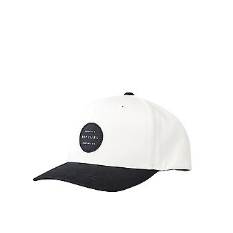 Rip Curl Hombres's Snapback Cap ~ Trestles blanco negro