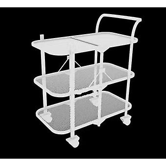 1 Set 90*65*35cm Removable Wood Hotel Trolley