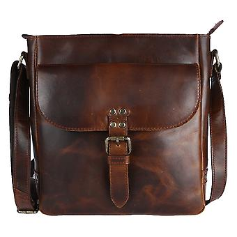 Ashwood Leather Darcy Across Body Bag - Copper Brown