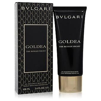 Bvlgari goldea the roman night pearly bath and shower gel by bvlgari 555842 100 ml