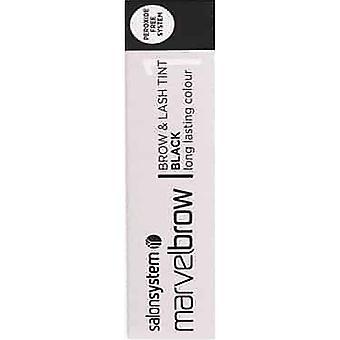 Salon System  Marvel Brow - Brow And Last Tint - Black 15ml