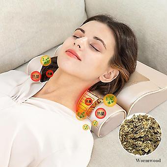 Masaż elektryczny poduszka szyi ramię ramię ciało masażer akupresura ogrzewanie podczerwieni relaks / łagodzi ból masażador