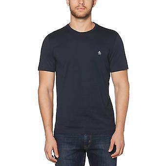 Original Penguin Pin Point T-Shirt - Dark Sapphire