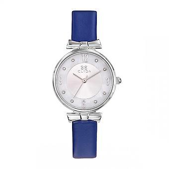 Jean Paul Gaultier Dameshorloge - CLA0778AAPB - Blauwe Lederen Armband
