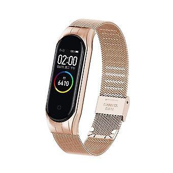 Metal Bracelet Strap Smart Watch