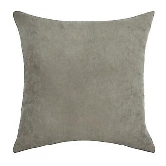 pillow 40 x 40 cm suede taupe
