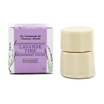 Solid Deodorant Refill - Fine Lavender 30 ml