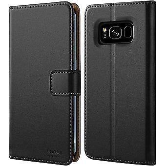 FengChun Galaxy S8 Plus Hülle, Handyhülle für Samsung Galaxy S8 Plus Tasche Leder Flip Case