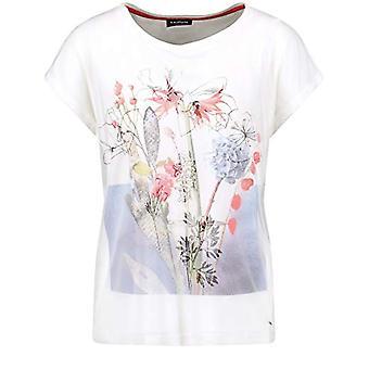 Taifun T-Shirt 1/2 Arm, White Pattern, 46 Woman(1)