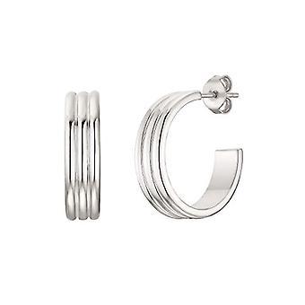 NOELANI Silver Hoop Earrings 925(11)