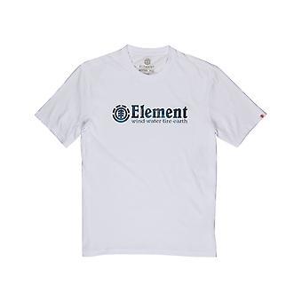 Element Boro Short Sleeve T-Shirt in Optic White