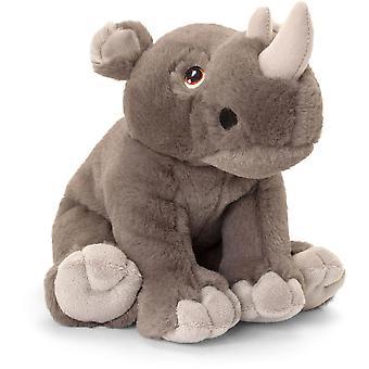 Keel Toys Keeleco Rhino 25cm