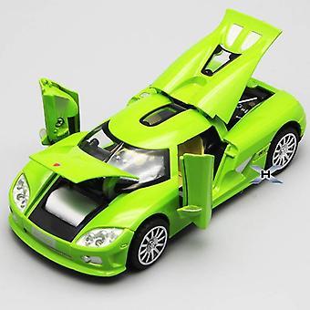 1/32 Koenigsegg Die Gegoten Model Speelgoed Voertuig Legering Pull Back Sound Light Toys Car  Diecasts