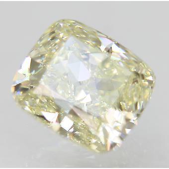 Gecertificeerd 0.75 Karaat J Kleur VVS1 Kussen Natuurlijke Losse Diamant 5.36x4.84mm