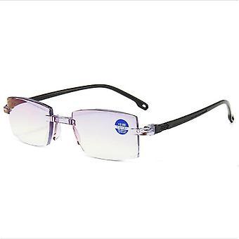 Ultralight Rimless Anti Blue Light Radiation, Reading Glasses